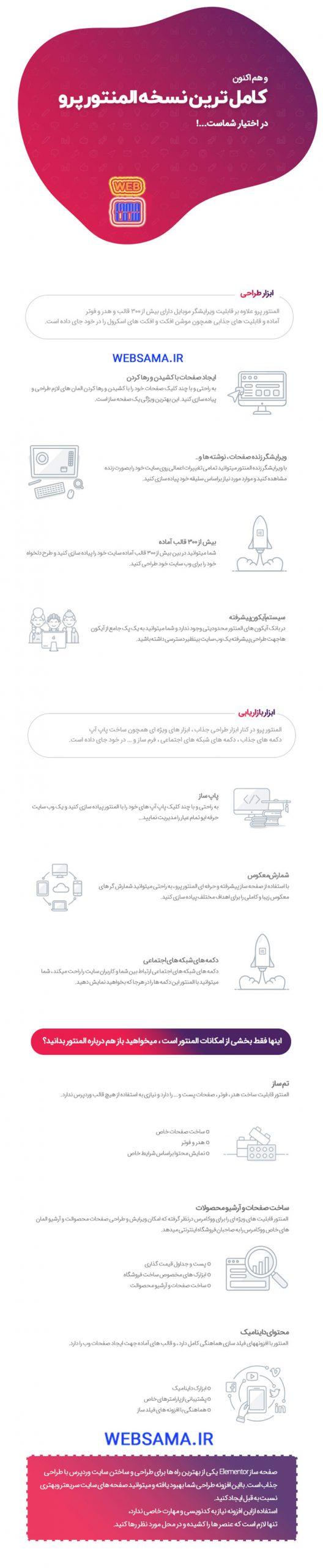 افزونه Elementor Pro فارسی